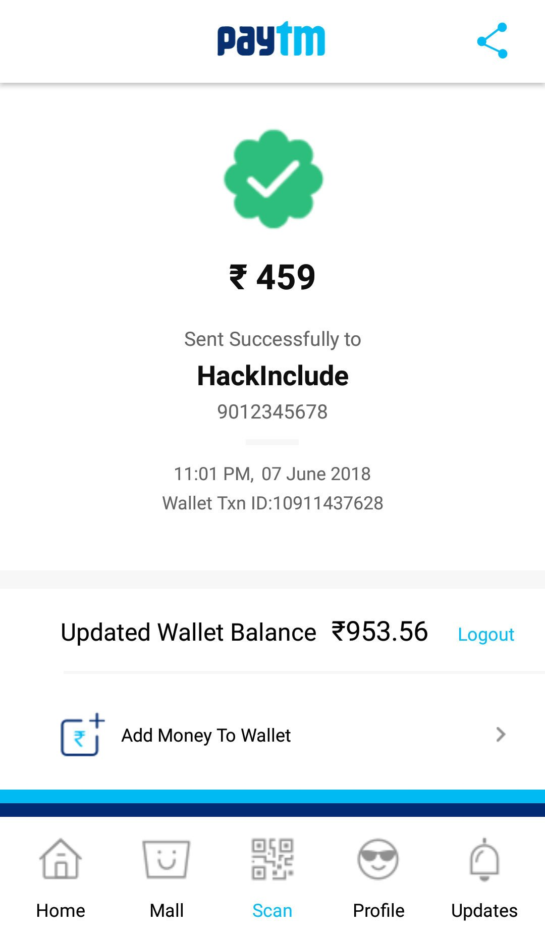 Fake Paytm Account Generator - adsfasr